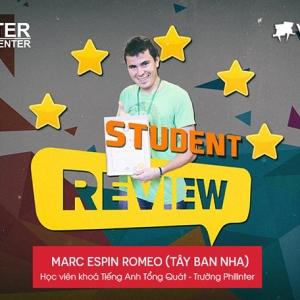 Marc Espin Romeo (Học viên Tây Ban Nha)