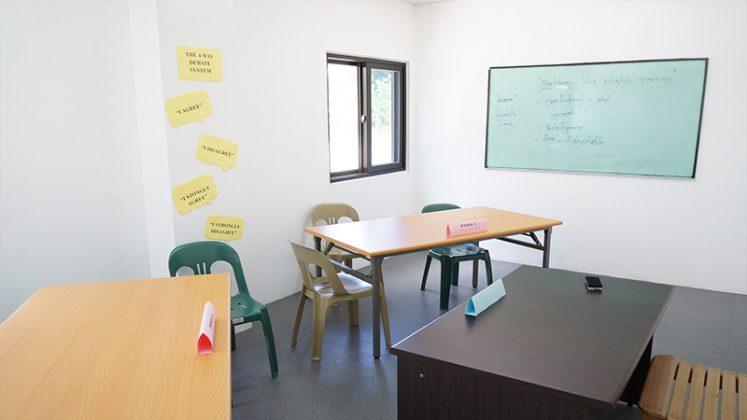 phòng học nhóm của keystone