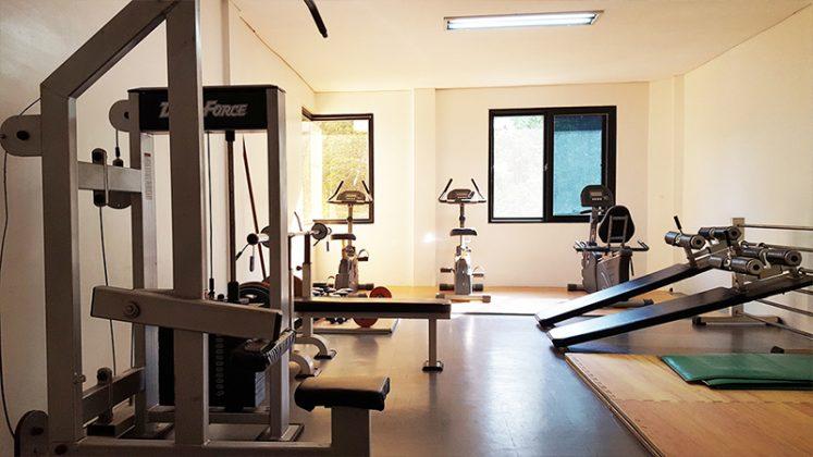khu tập gym của keystone