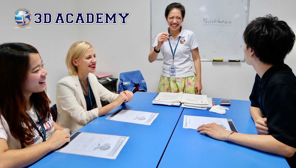Trường Anh ngữ 3D Academy
