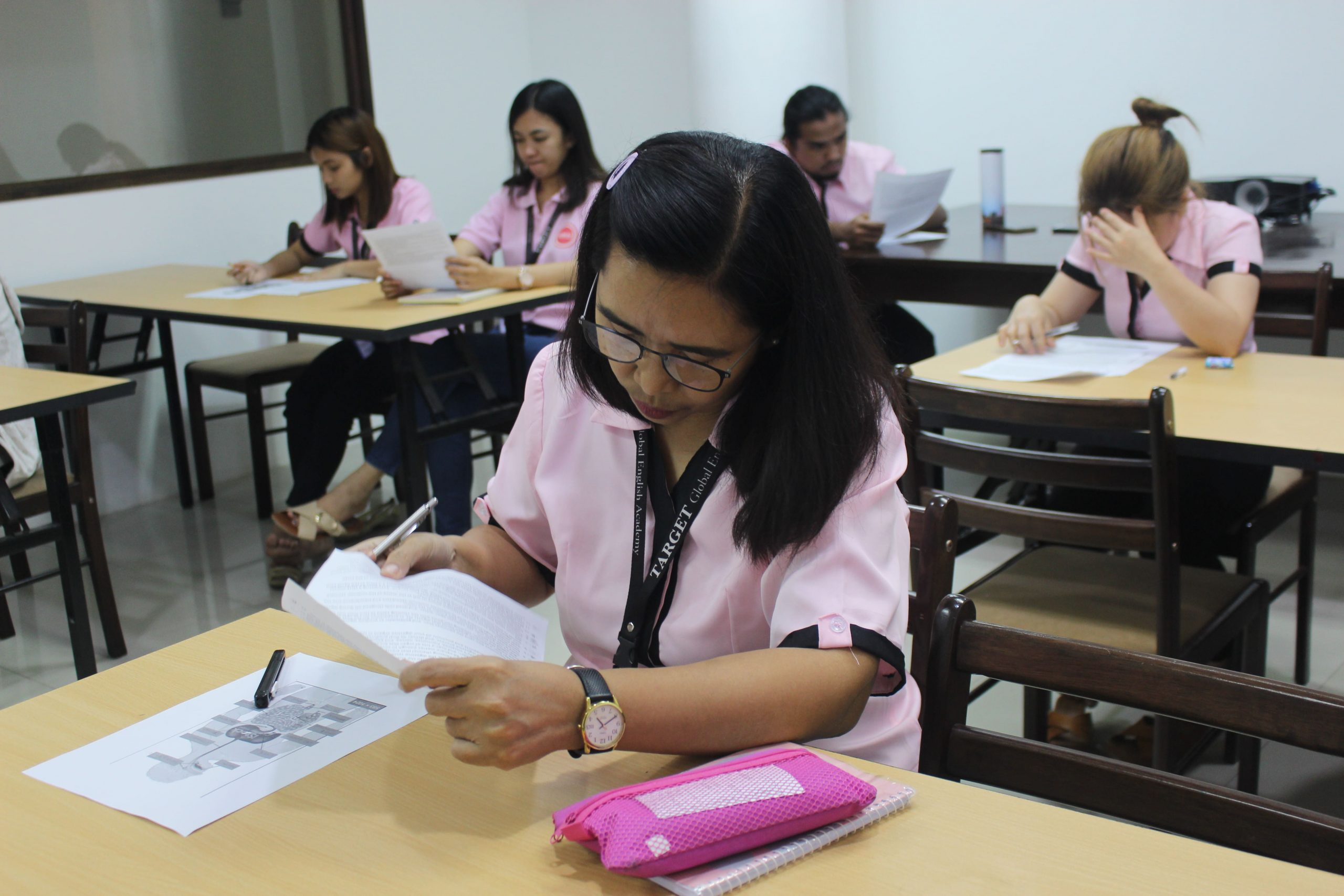 Giảng viên trường anh ngữ Target Philippines