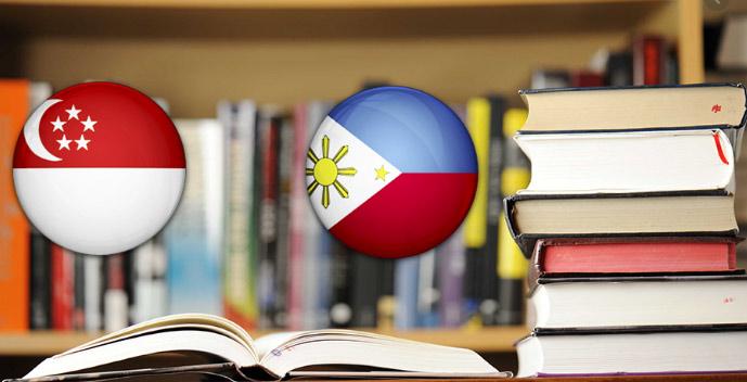 có nên học tiếng anh ở philippines hay singapore